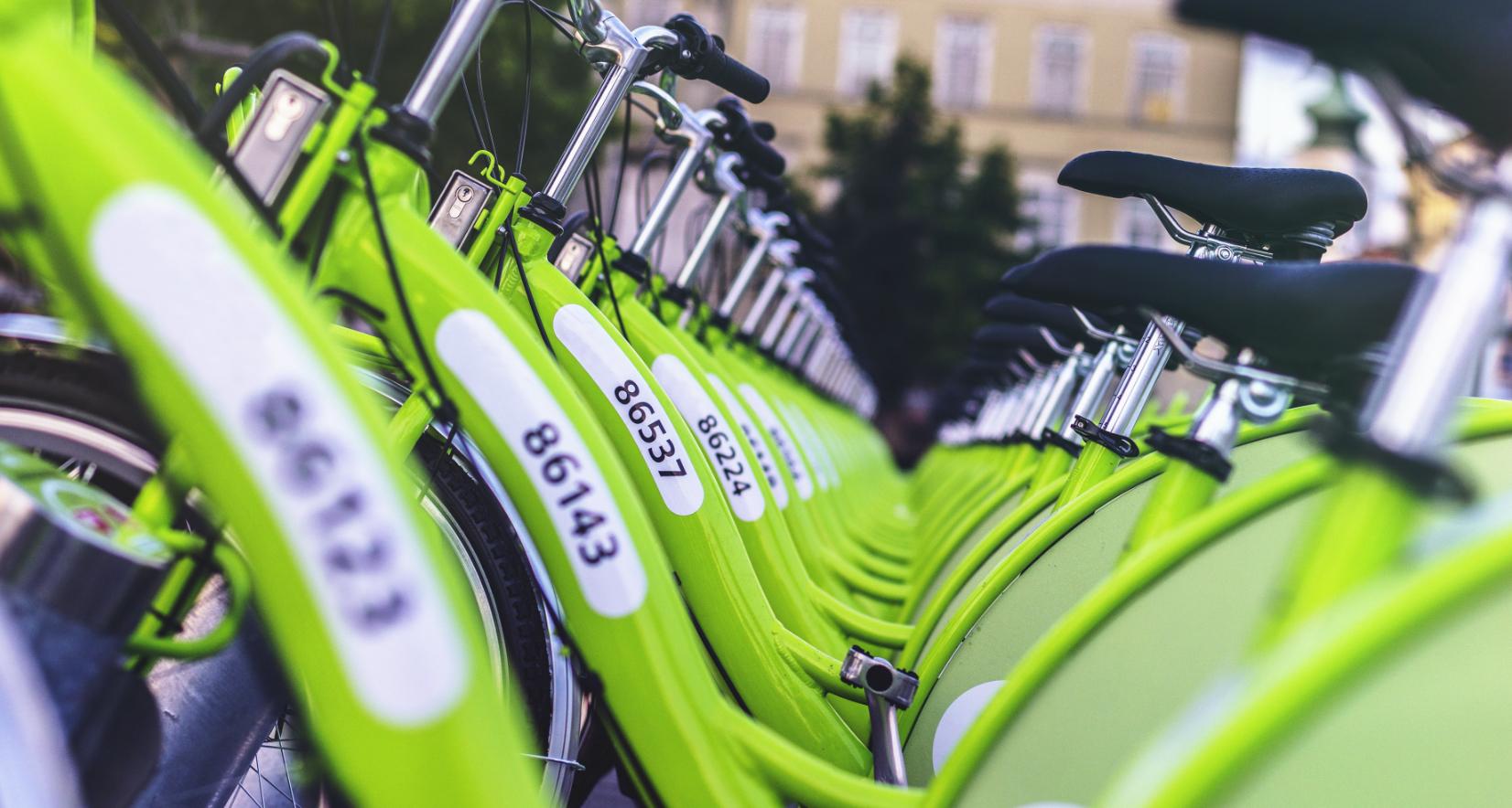 Shared bikes - Unsplash